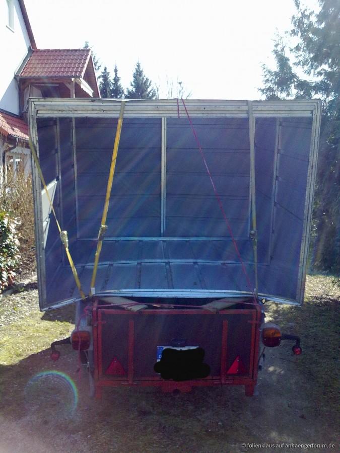 Gartenhäuschen  Transport ;)