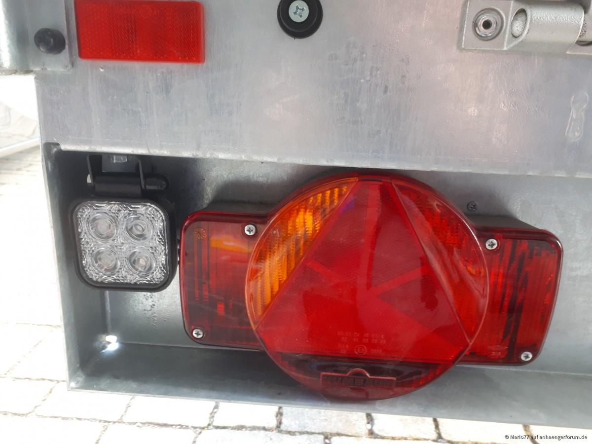 Rückfahrscheinwerfer 12 Watt