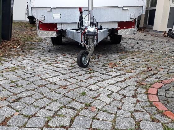 Eduard Rückwärtskipper Anbau der Stauboxen
