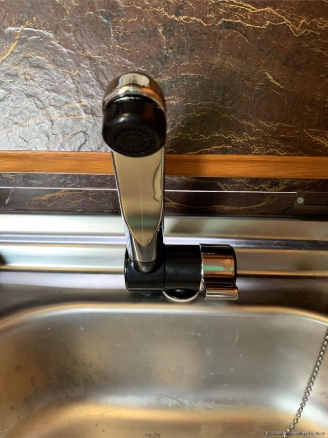 neuer Wasserhahn für die Küche (aber nur Kaltwasser)