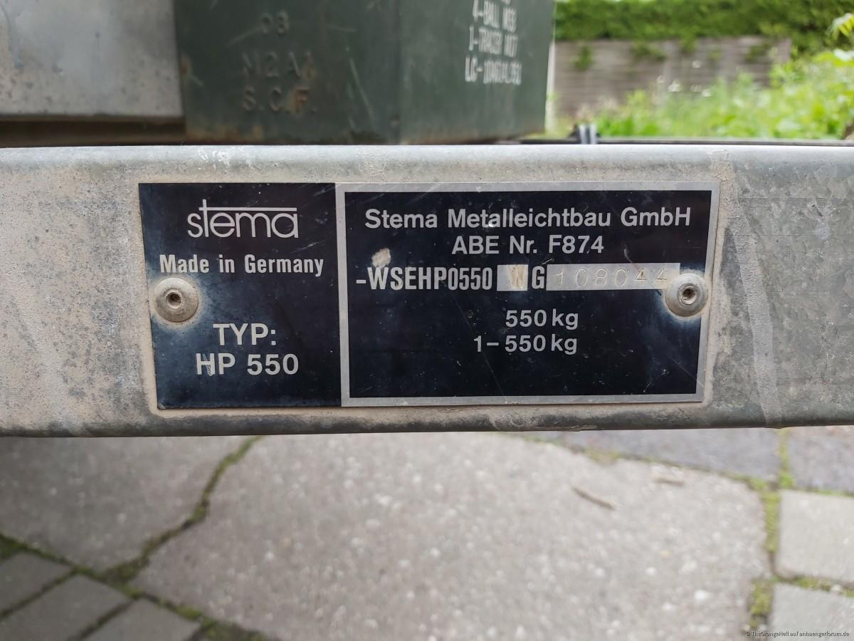 Stema HP 550