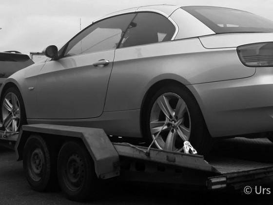 Kagerer Autotransporter mit Peitz-Fahrgestell