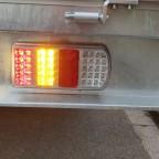 Umgerüstet auf LED-Rückleuchten