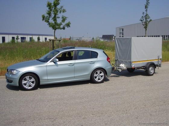 BMW 118d mit Stema 850