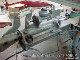 hydraulische Auflaufbremse Marke Eigenbau?