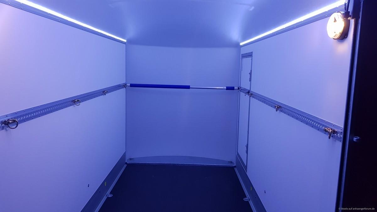 Innenbeleuchtung mit LED-Streifen